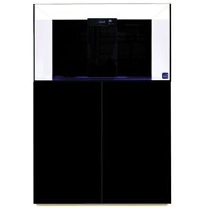 TMC Reef Habitat 90 Aquarium & Cabinet (Gloss Black)
